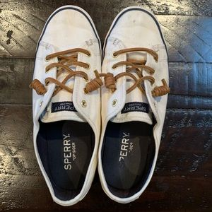 Sperry Top Sider Slip Ons size 8